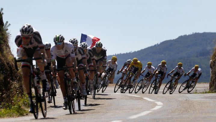 Deutsche Profis bei der Tour de France: Spezialisten ohne Kletterer