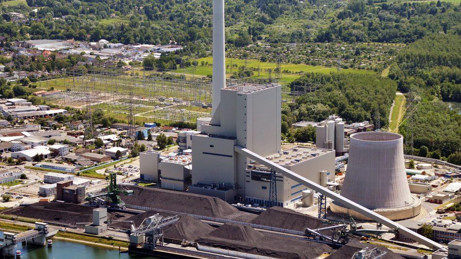 Rheinhafen-Dampfkraftwerk in Karlsruhe