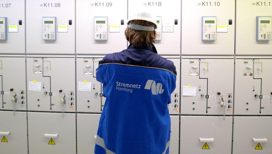 Umspannwerk (Archivbild): Soziale Probleme bei der Energiewende