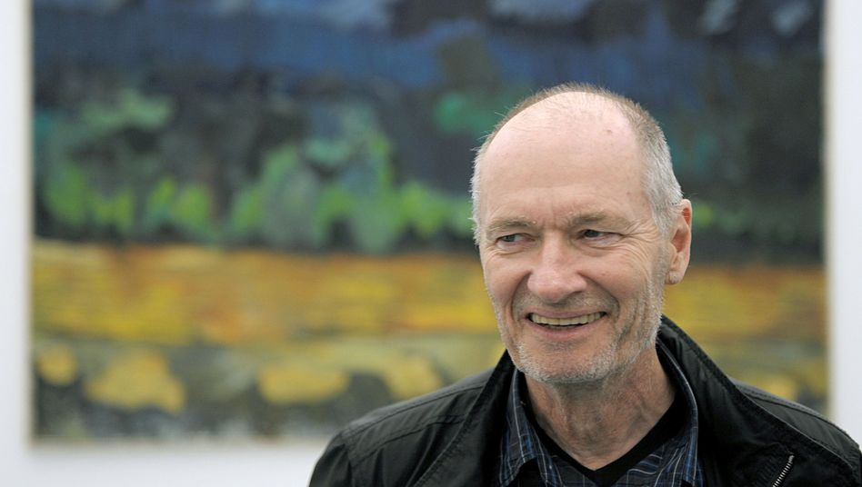 Per Kirkeby (2009) in Düsseldorf