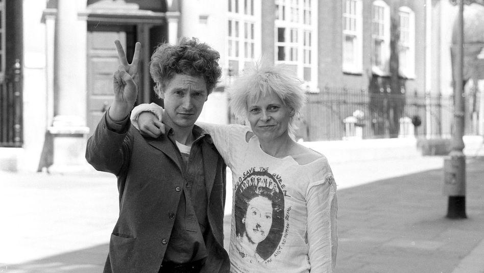Malcolm McLaren und Viviane Westwood 1977
