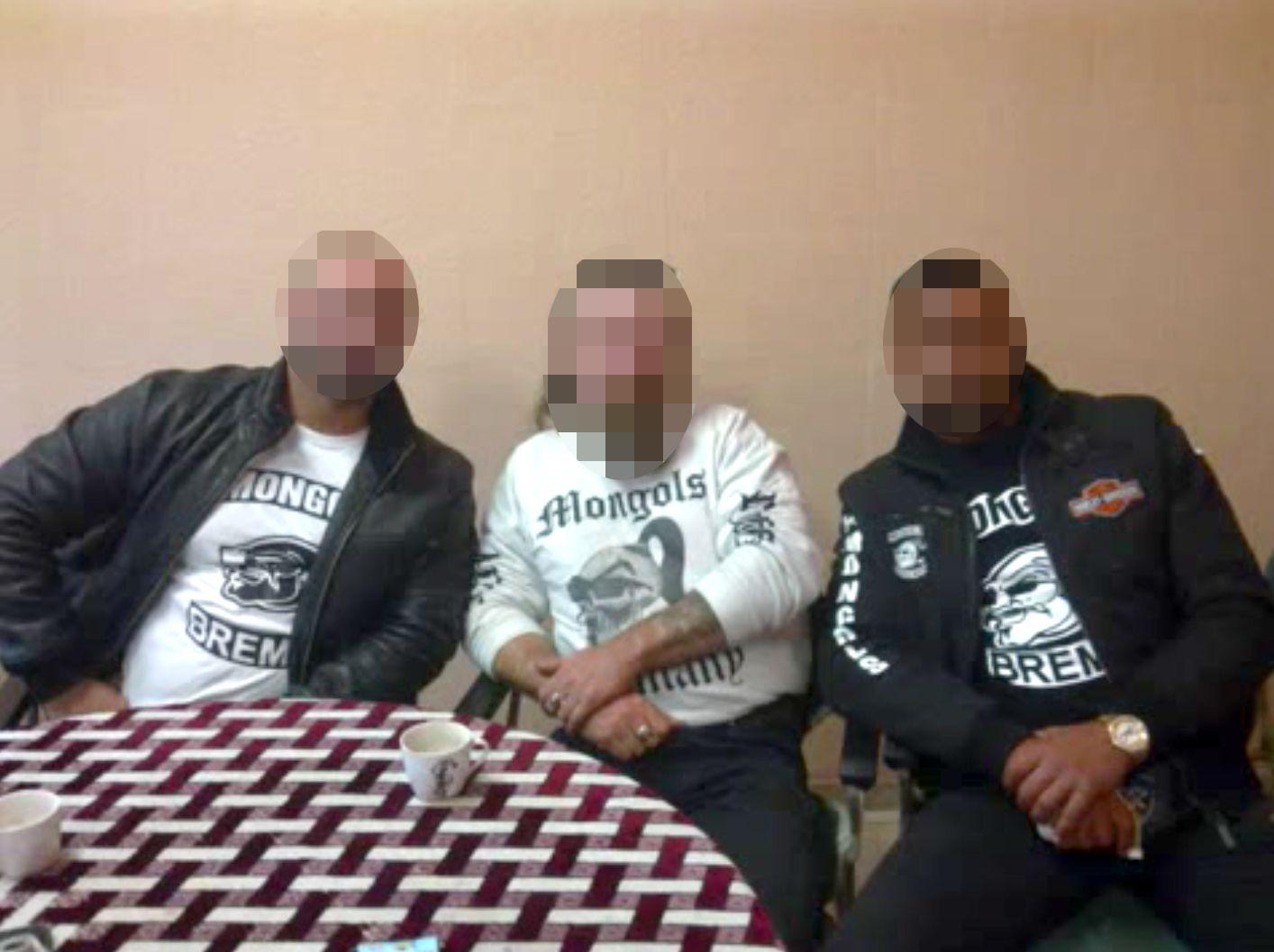 EINMALIGE VERWENDUNG Mongols MC/ Bremen