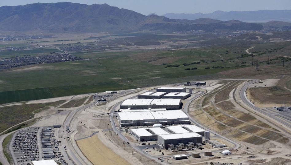 Neues NSA-Rechenzentrum in Bluffdale, Utah: Riesige Datenmengen