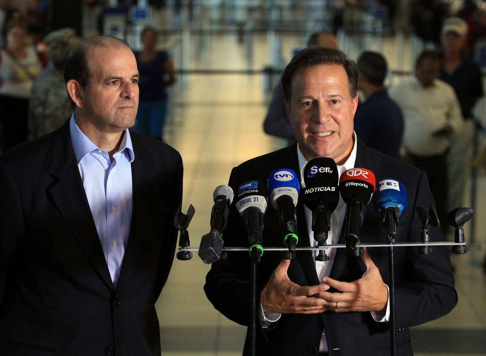 President of Panama Juan Carlos Varela decries Frances adding Pa
