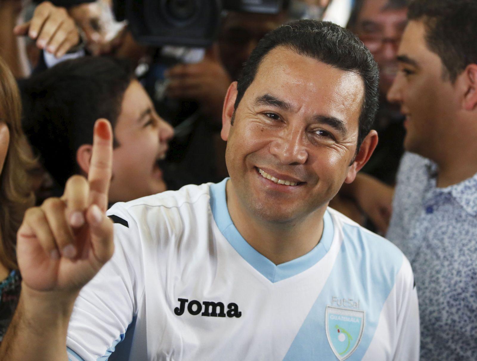 Jimmy Morales / Guatemala