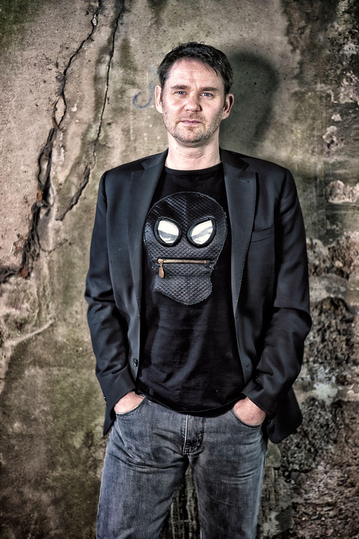 Polizist und Autor Andy Neumann