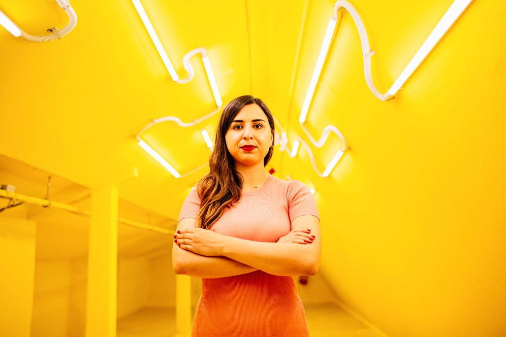 Datenexpertin Mina Saidze