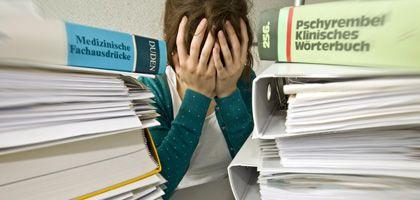 Stress in der Uni: Gerade wer alles geben will, mutet sich oft zu viel zu