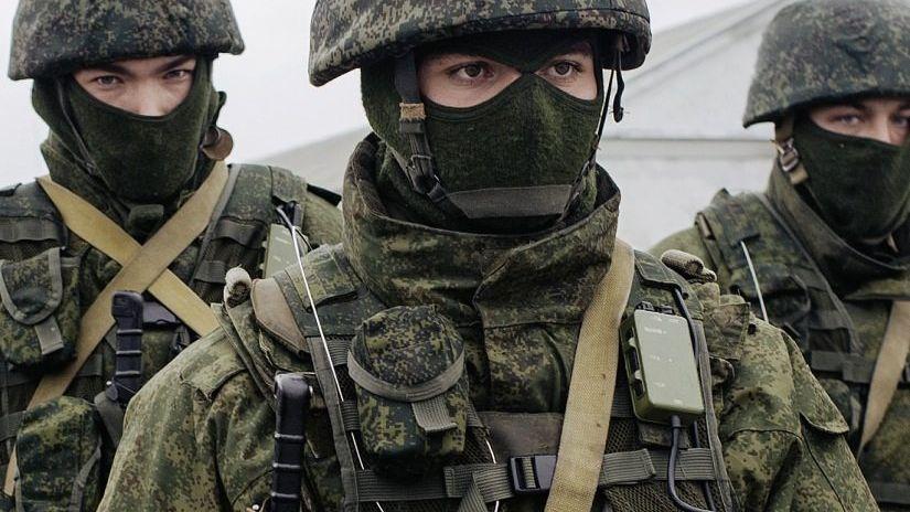 Russische Soldaten auf der Krim 2014