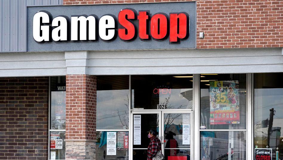 Filiale von GameStop in Illinois: Spiel mit überraschenden Gewinnern