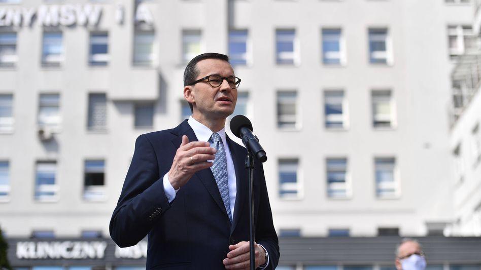 """Mateusz Morawiecki: """"Wenn Sie genug Stimmen haben, entlassen Sie uns."""""""