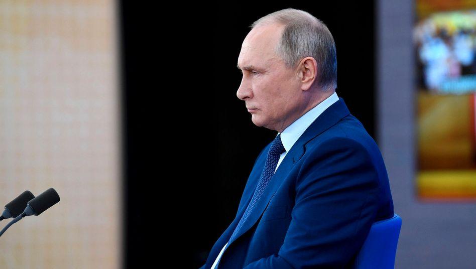 Muss sich nicht um seine juristische Zukunft sorgen: Russlands Präsident Wladimir Putin