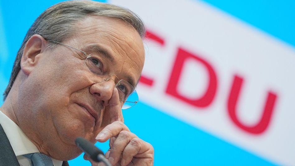 Der Unions-Kanzlerkandidat Armin Laschet