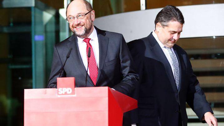 SPD-Chef Schulz: Sein härtestes Jahr