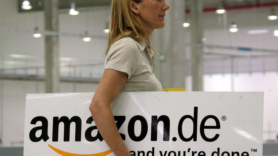 """Firmenlogo des Internet-Einzelhändlers Amazon: """"Fehler, der korrigiert werden muss"""""""