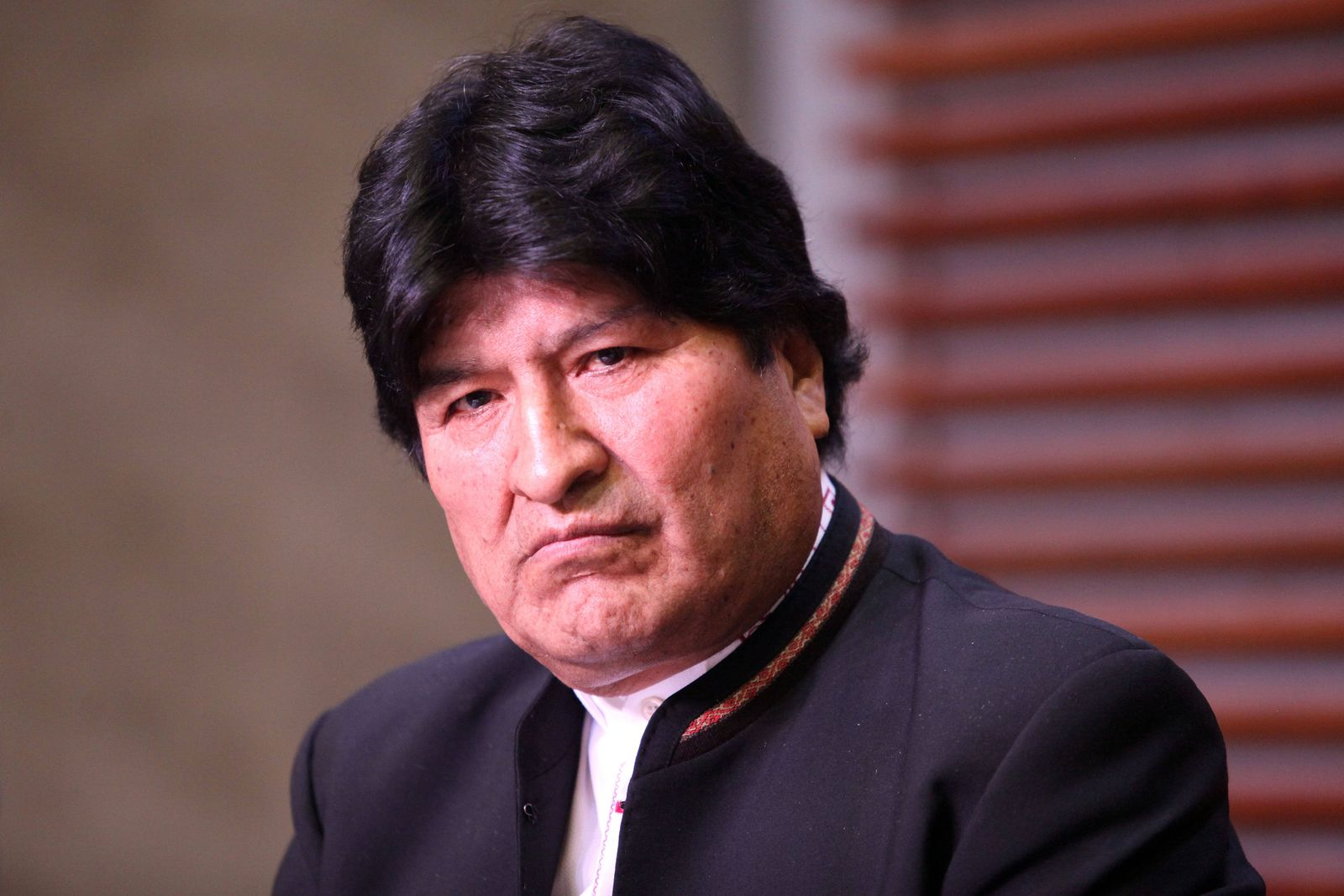 February 21, 2020, Buenos Aires, Buenos Aires, Argentina: Former Bolivian President Evo Morales gave a press conference