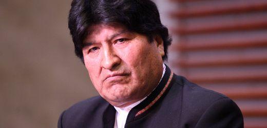 Bolivien: Ex-Präsident Evo Morales darf nicht bei Senatswahl antreten