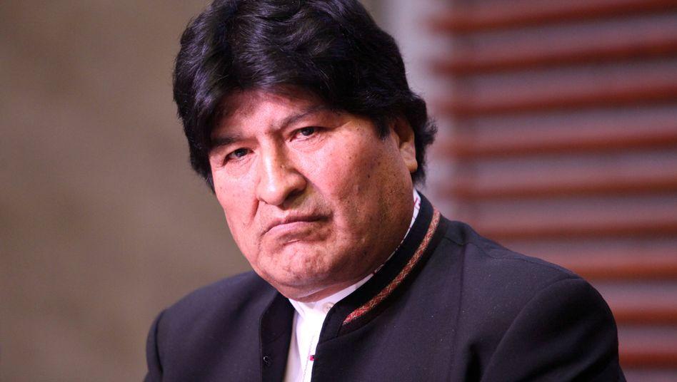 Evo Morales musste im vergangenen Jahr zurücktreten