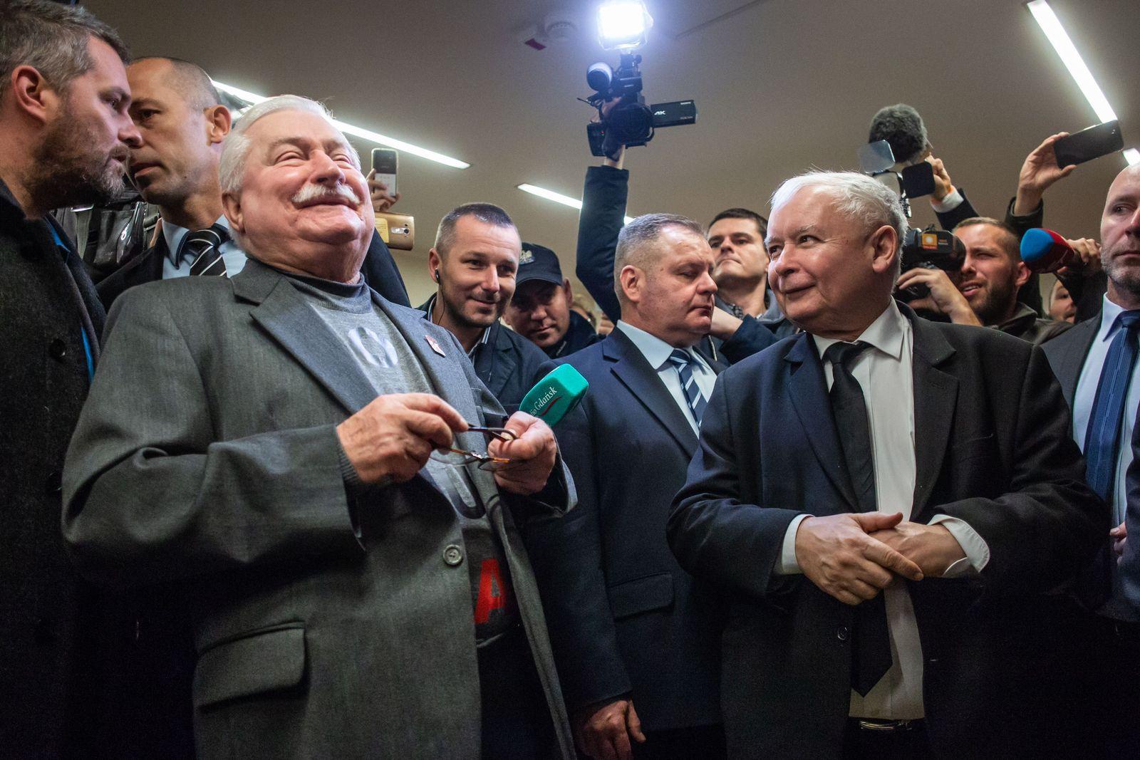 POLAND-POLITICS-JUSTICE-WALESA-KACZYNSKI