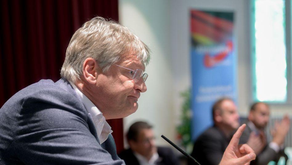 """AfD-Chef Jörg Meuthen: """"Achtung und Respekt"""" vor Strache"""