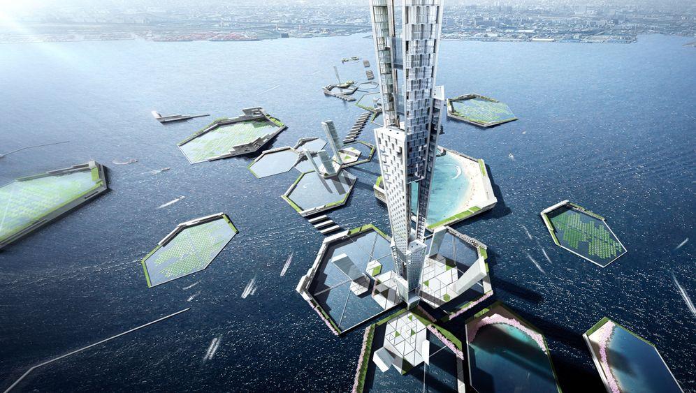 Sky Mile Tower: Öko-Wolkenkratzer für Tokio
