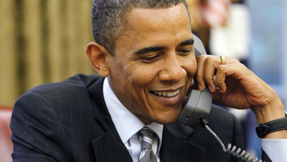 US-Präsident Obama: Telefonische Glückwünsche an den neuen Premier