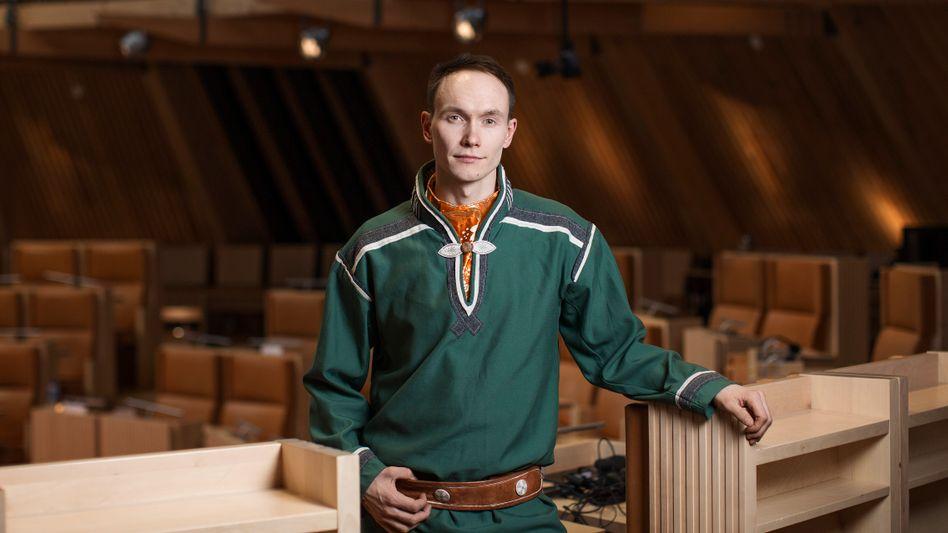 Runar Myrnes Balto im samischen Parlament: »Das ist grüner Kolonialismus«