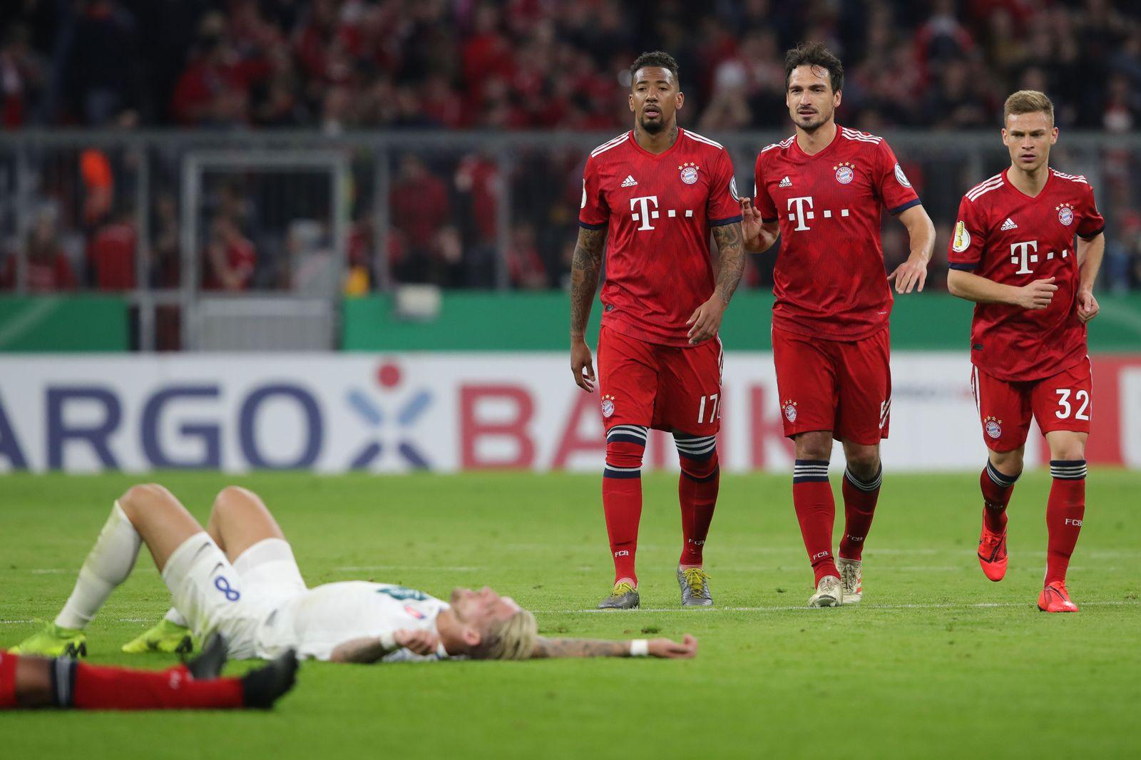 Bayern Abwehr Hummels Boateng Kimmich