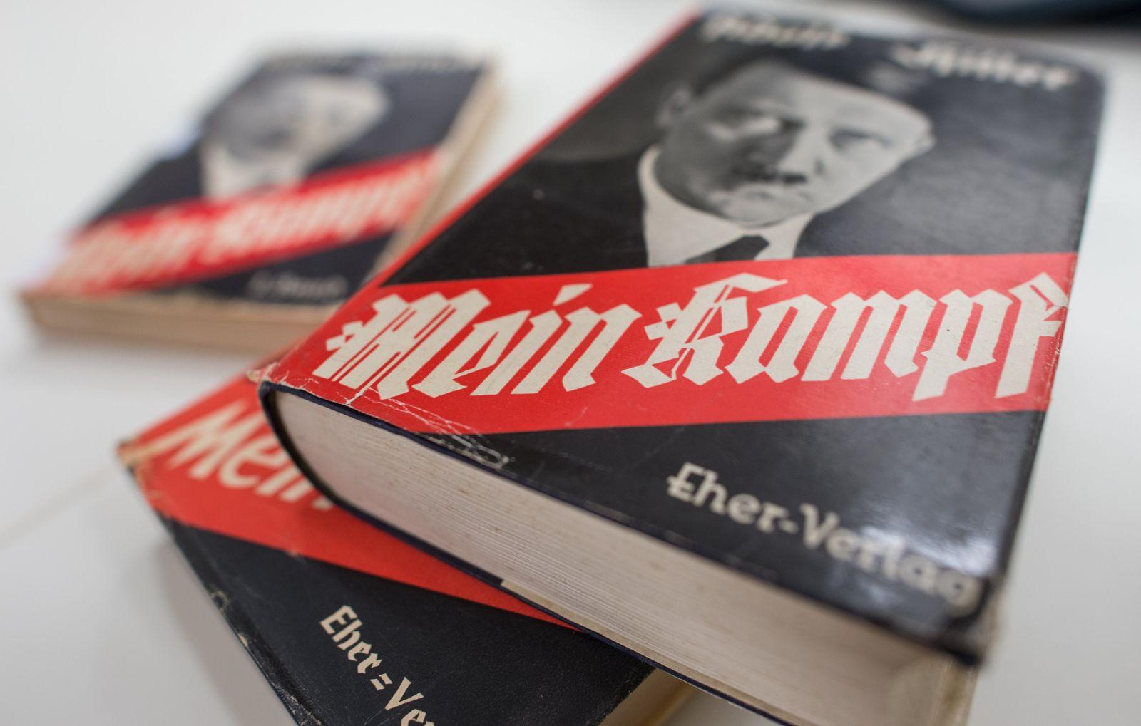 Kommentierte Ausgabe von Hitlers «Mein Kampf» erscheint