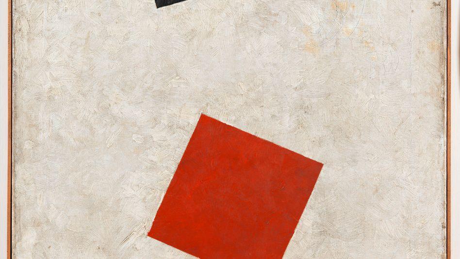 Angebliches Malewitsch-Gemälde