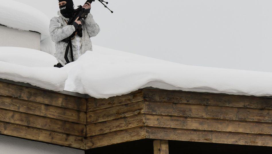 Weltwirtschaftsforum in Davos: Untergangsstimmung vor Alpenkulisse