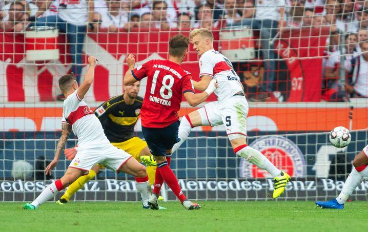 Leon Goretzka trifft zum 0:1