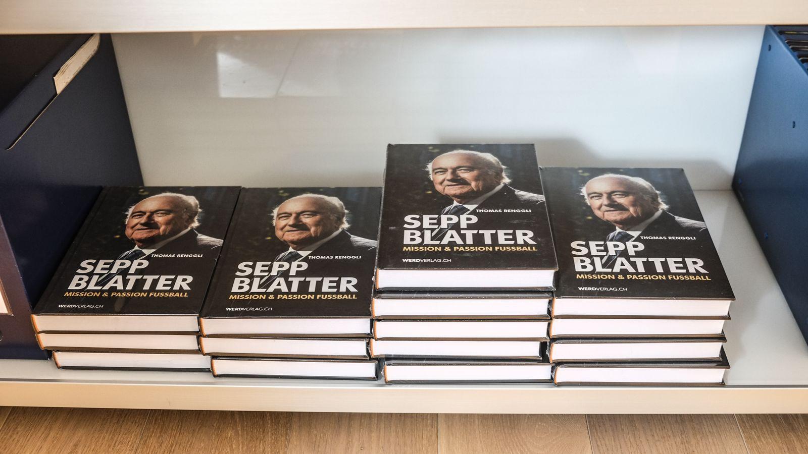 EINMALIGE VERWENDUNG SPIEGEL Plus SPIEGEL 33/2017 S.104 Sepp Blatter