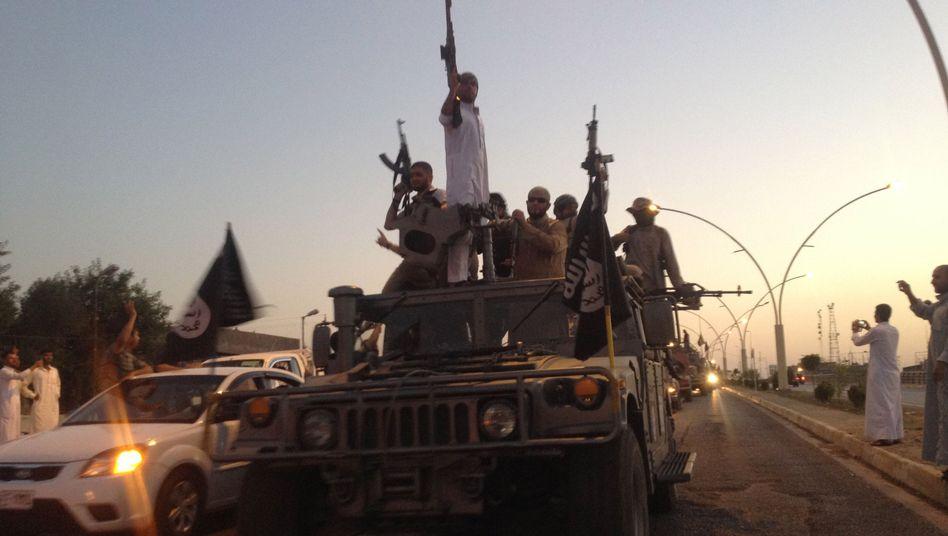 """Offensive im Irak: ISIS-Extremisten rufen """"Islamisches Kalifat"""" aus"""