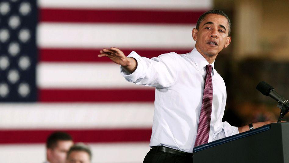 US-Präsident Obama: Verhandlungen über Haushalt drohen zu scheitern