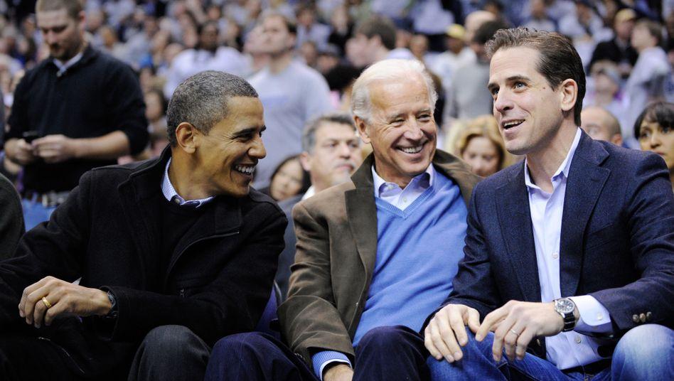US-Vizepräsident Biden, Sohn Hunter: Lobbyarbeit in der Ukraine