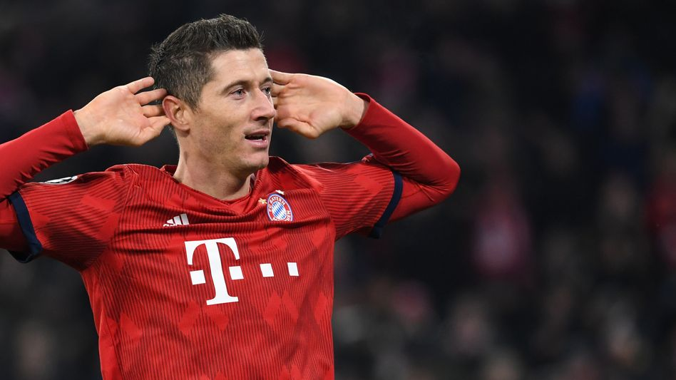 Bayern-Stürmer Robert Lewandowski