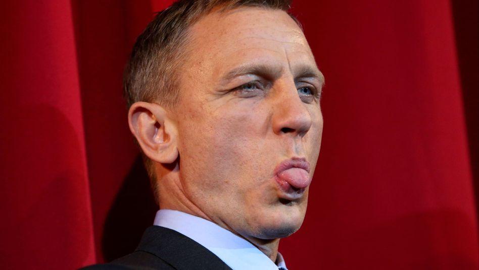 """Agent im Streik? James-Bond-Darsteller Daniel Craig bei der Deutschland-Premiere des Films """"Spectre"""" in Berlin"""