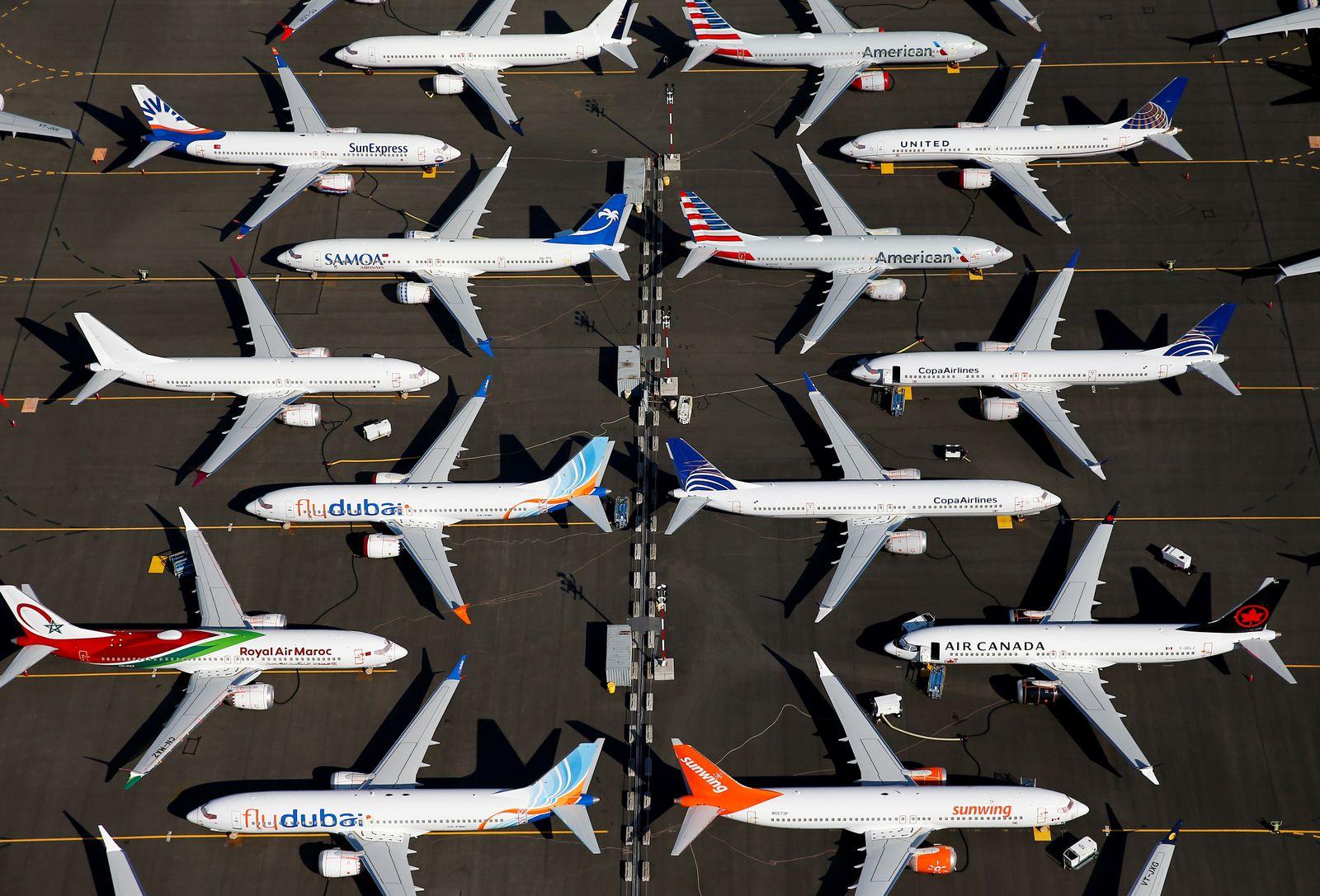EINMALIGE VERWENDUNG PLUS DER SPIEGEL 32/2019 S. 10 Titel Boeing Teil 1