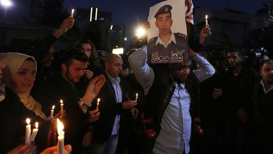 Muaz al-Kasaesbeh: Der jordanische Pilot wurde offenbar von den Dschihadisten getötet