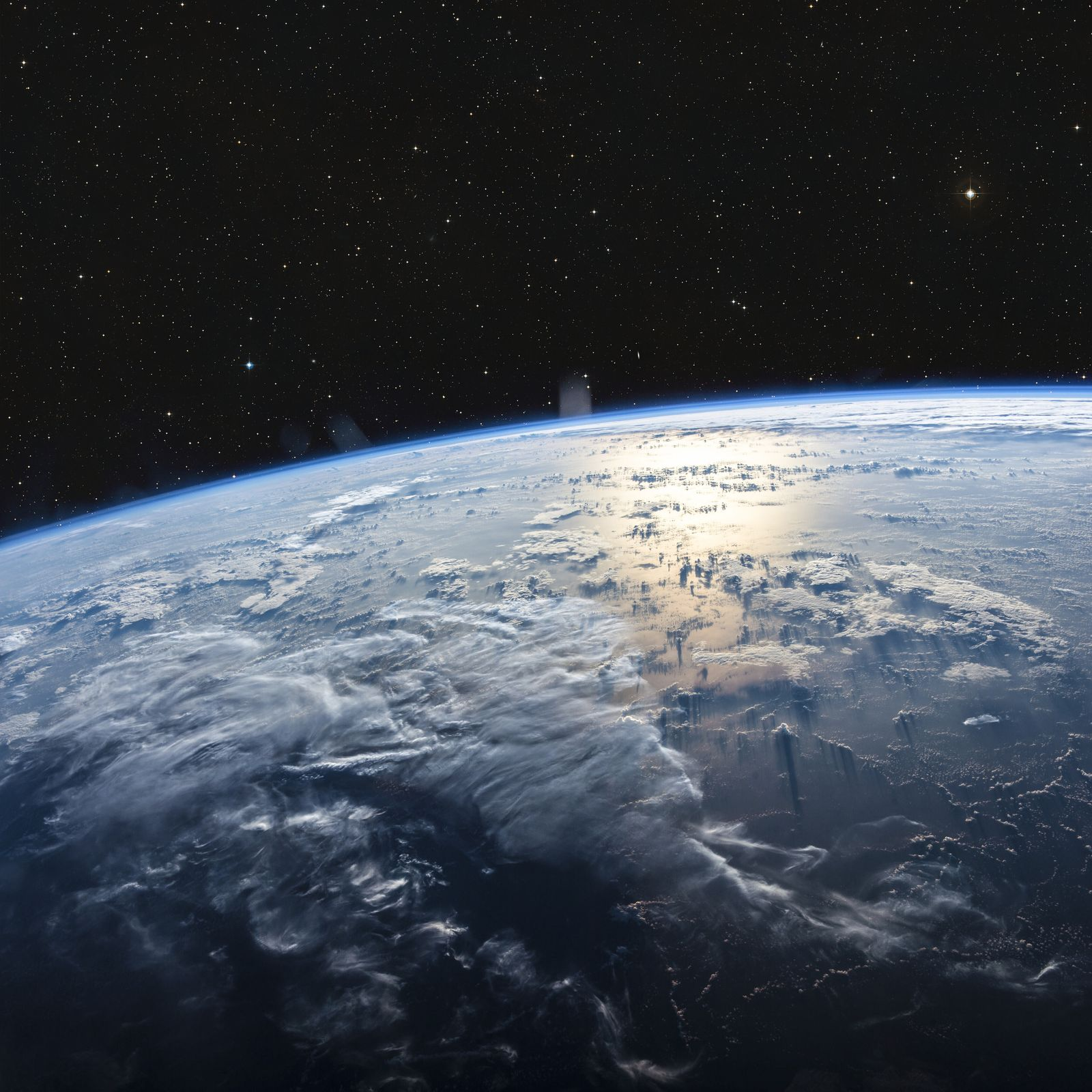 Planet Earth from space. Elements of this image furnished by NASA (Modelist)
