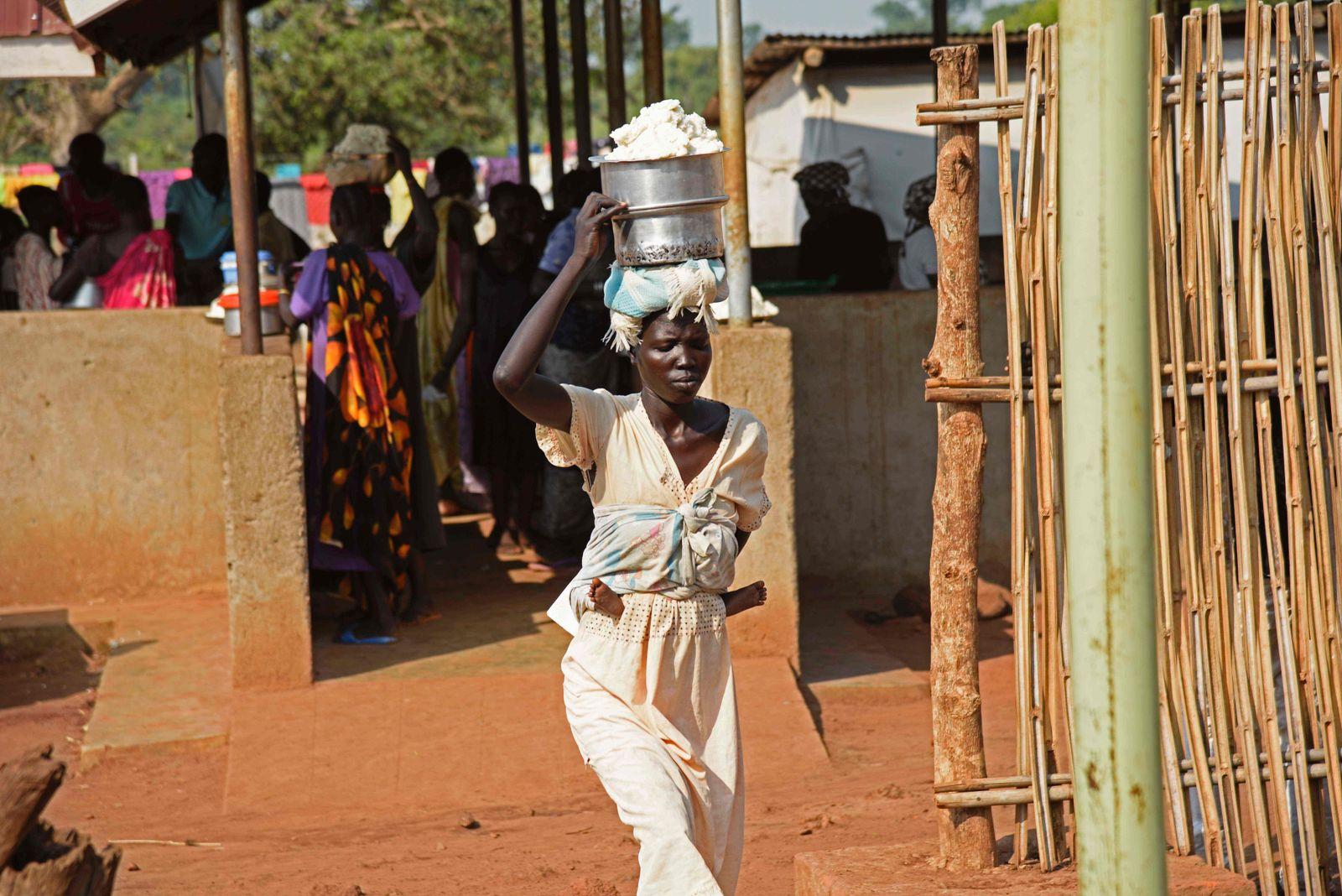 UGANDA-SSUDAN-UNREST-REFUGEES