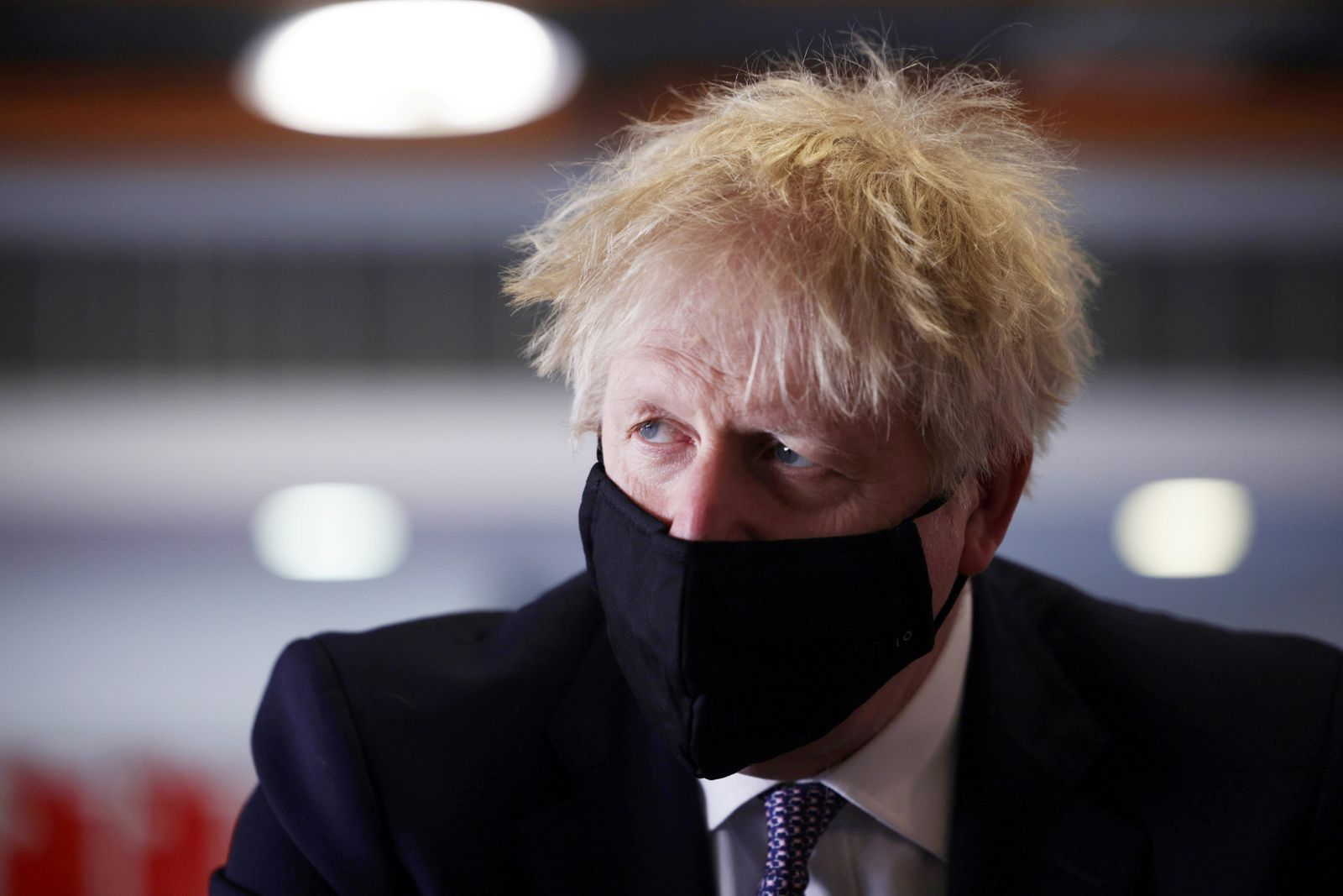 Britain's PM Johnson and Chancellor of the Exchequer Sunak visit a school in London
