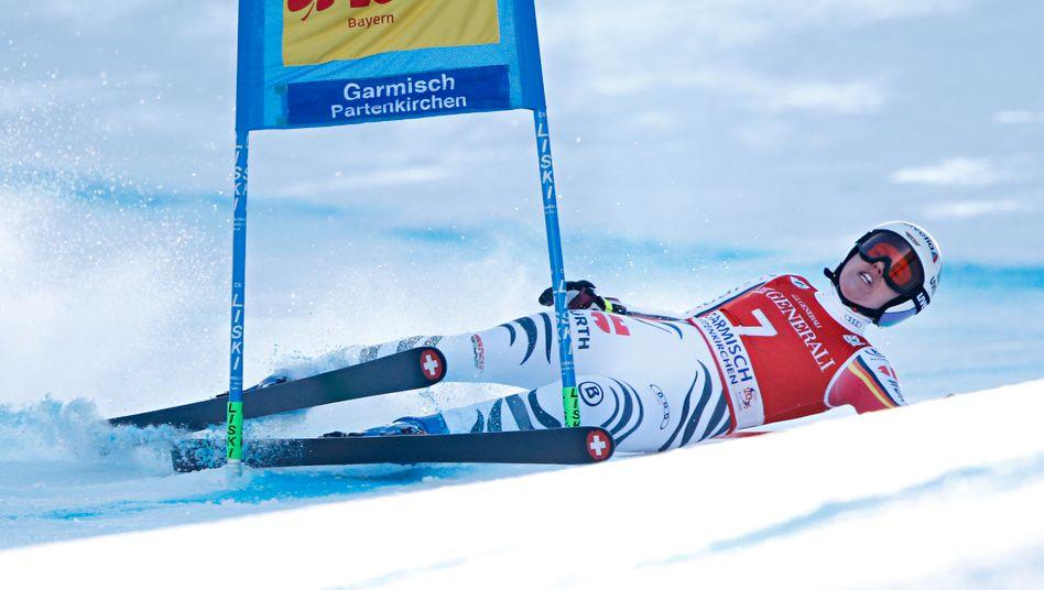 Viktoria Rebensburg stürzte einen Tag nach ihrem Abfahrtssieg im Super-G