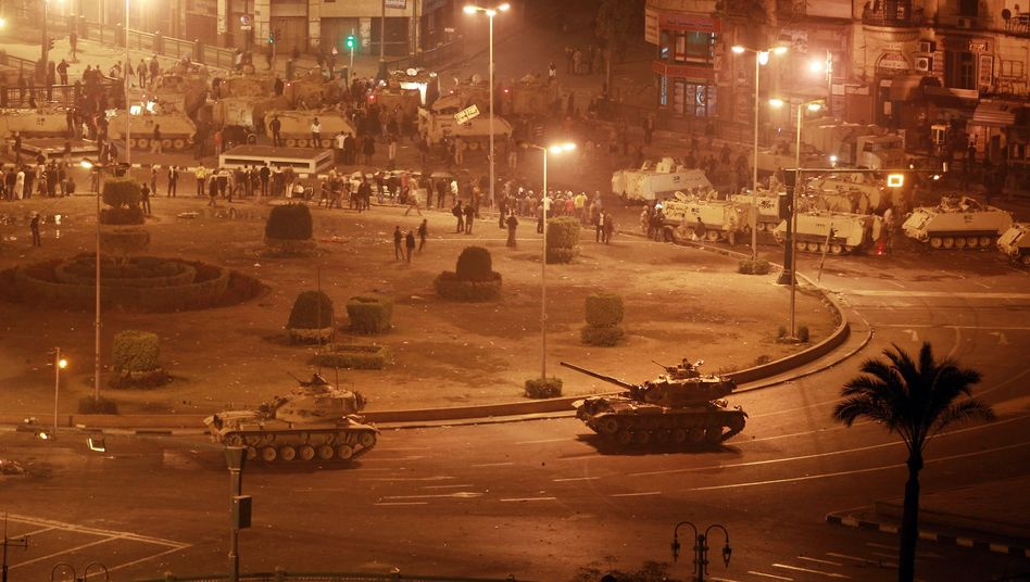 Zusammenstöße mit Demonstranten (hier in Kairo): Auch deutsche Waffen im Einsatz