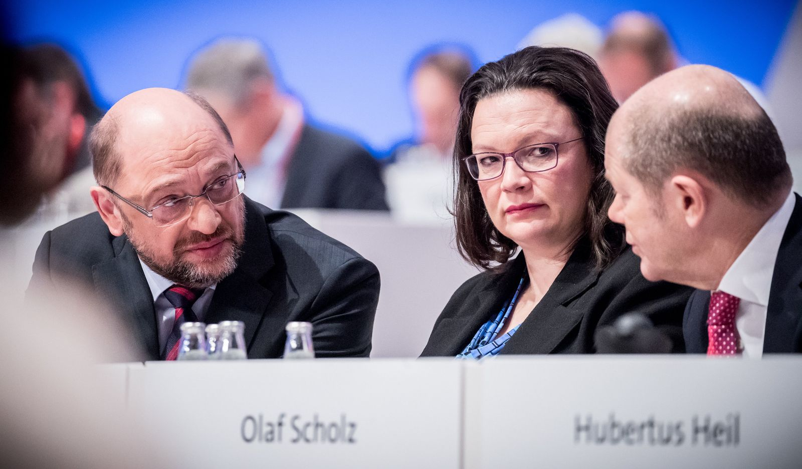 Scholz, Nahles, Schulz