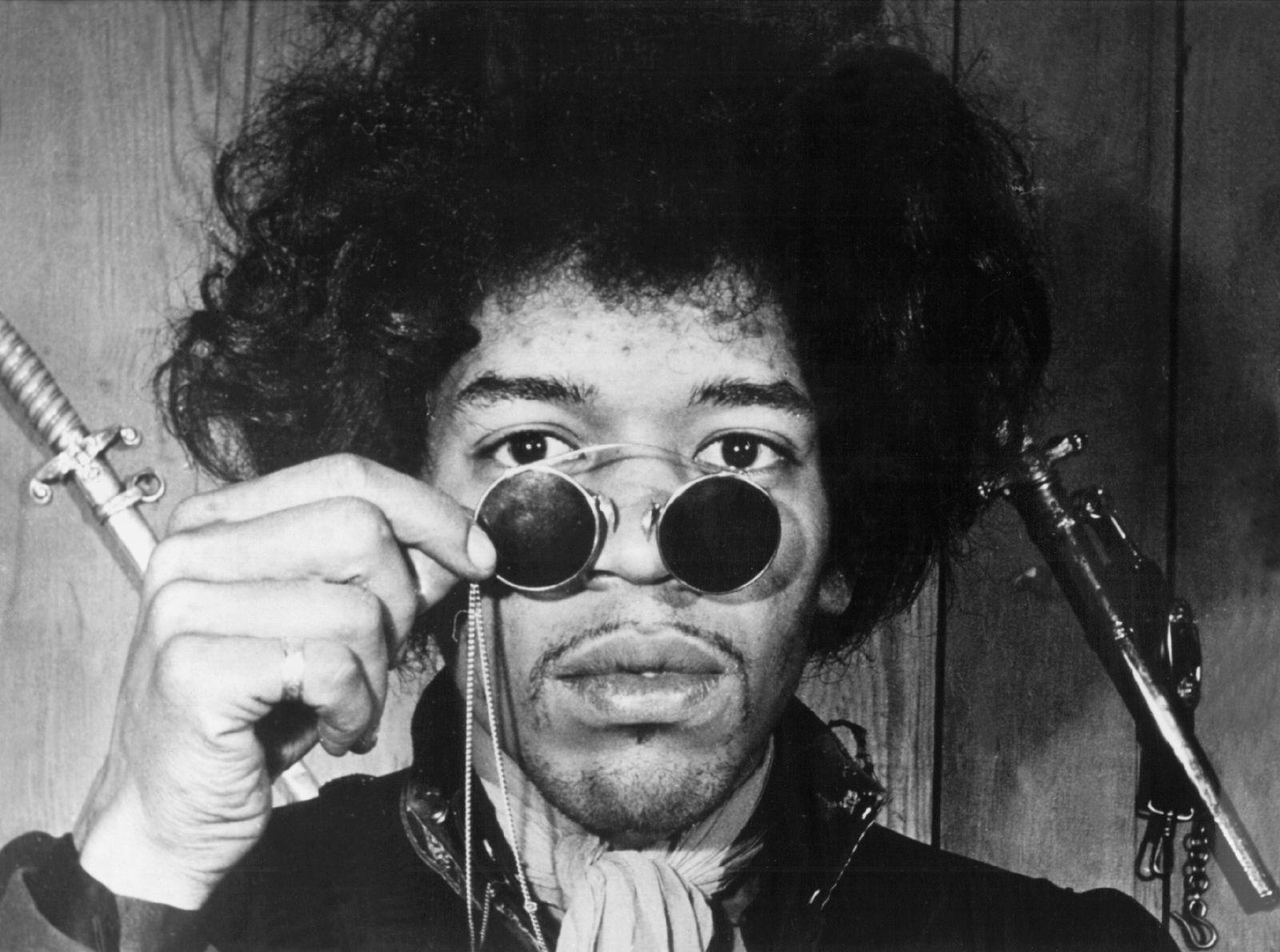 EINMALIGE VERWENDUNG Gitarren-Genie Jimi Hendrix wäre 65 geworden