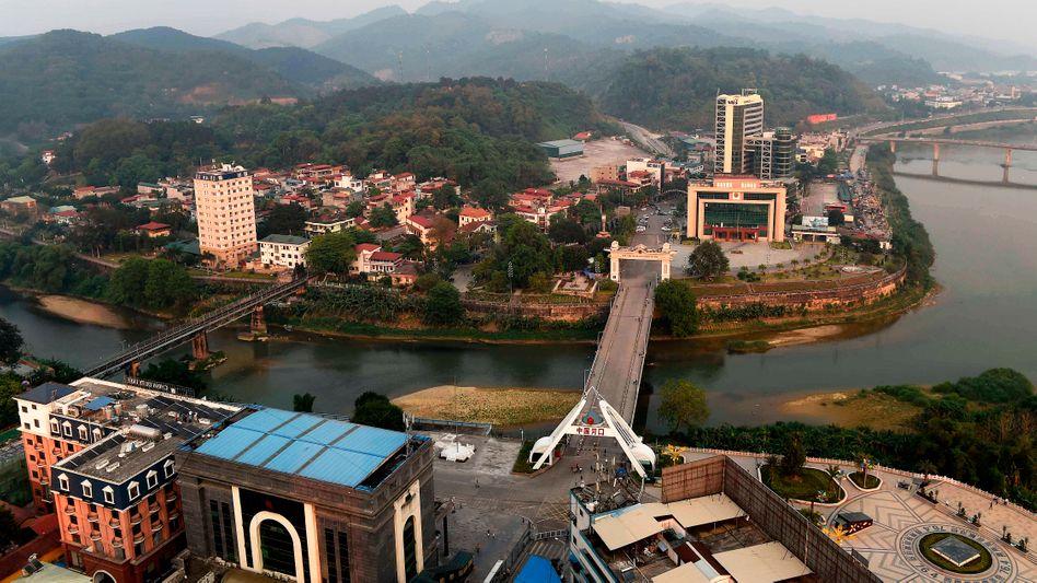 Hafen von Hekou an der vietnamesisch-chinesischen Grenze (Archivbild)