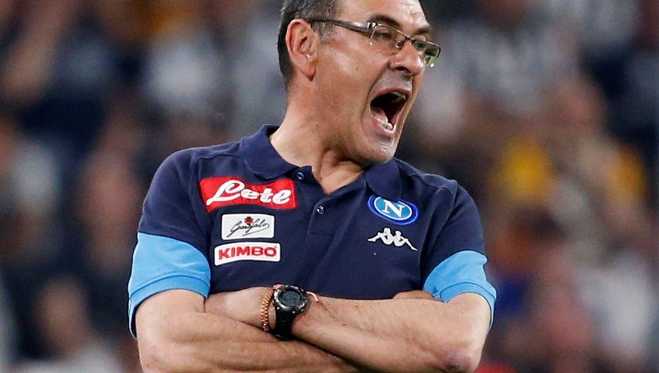 Ex-Napoli-Coach Maurizio Sarri