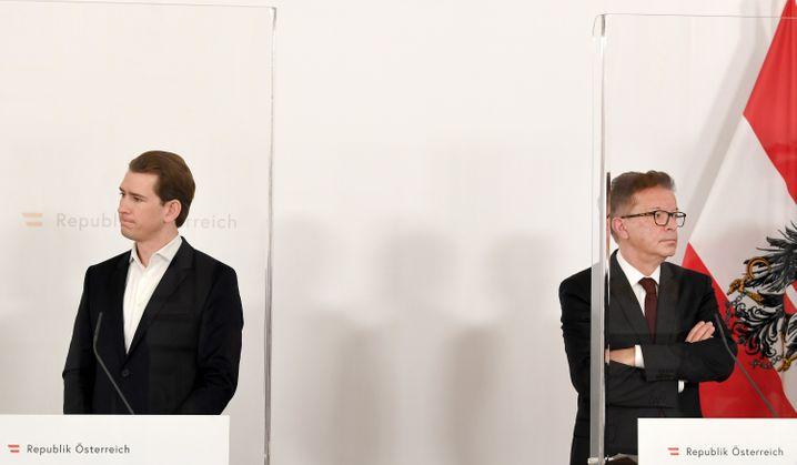 Kanzler Kurz, Gesundheitsminister Anschober: Die Schuld bei anderen suchen